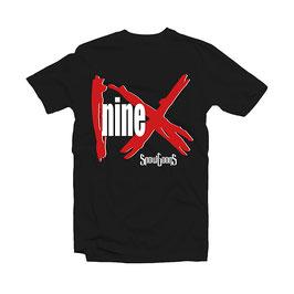 NINE Tee (black)