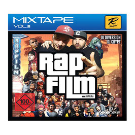 DJ CRYPT & DJ DIVERSION – RAPFILM (MIX CD)