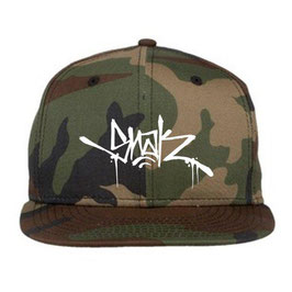 SNAK - TAG CAMO NEW ERA SNAPBACK