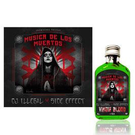 DJ ILLEGAL & SIDE EFFECT – GREEN BUNDLE (CD & GREEN BOTTLE)
