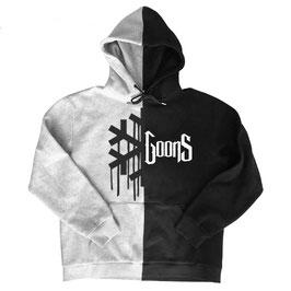 Snowgoons Split Hoodie (Grey/Black)