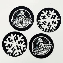 SNOWGOONS – COASTERS / BEERMAT SET