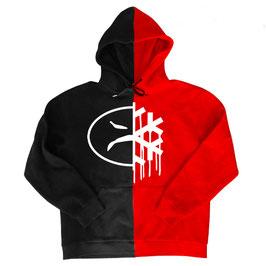 Onyx & Snowgoons Split Hoodie (Black/Red)