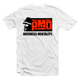 PMD – BUSINE$$ MENTALITY Tee (white)