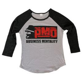 PMD – BUSINE$$ GIRL SHIRT (black/grey)