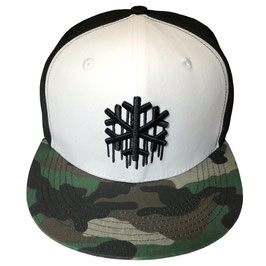 SNOWGOONS - FLAKE GREEN CAMO HAT
