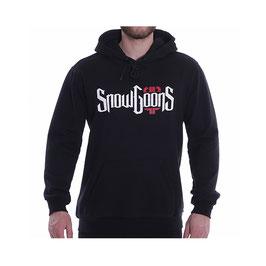 """SNOWGOONS x PELLE PELLE """"CROSSROAD"""" Hoodie (black)"""