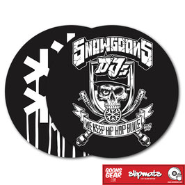 SNOWGOONS - MIXED DOUBLE PACK SLIPMAT (GLAZED BOTTOM)