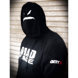 ONYX MAD FACE HOODIE (WITH MASK)