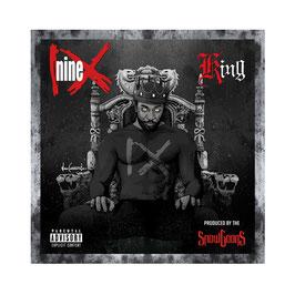 NINE - KING (CD) + FREE STICKER PACKAGE
