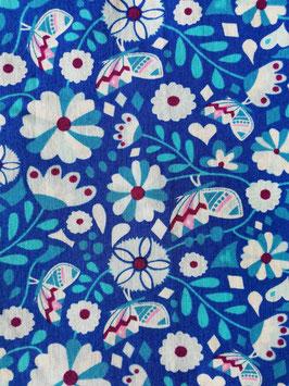 Démaquillants Fleurs bleues