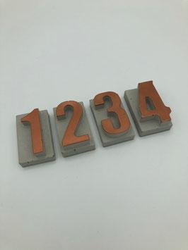 Beton-Buchstaben Set (1234)
