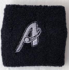 Armschweißband aus Frottee mit gesticktem Atomics Logo (Wristband)
