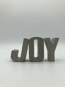 Beton-Buchstaben Set (Joy)