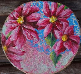 Blütenranke rosa