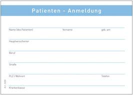 Patienten Anmeldung