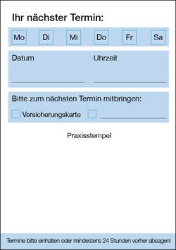 Terminzettel / Neutral / Einzeltermin