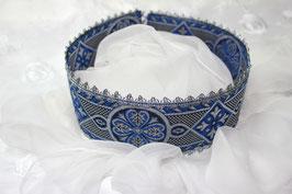 SCHAPEL, blau - silber