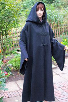 NOTRON -  Mantel Wollloden, schwarz