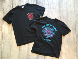SIMS SKATE STYLE(シムス スケートスタイル)TACOMA FUJI RECORDS × SSS The Art Of Riding Tee
