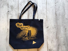 and wander(アンドワンダー) canvas eco bag