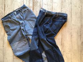 Sunny Side Up(サニーサイドアップ) Knee Sand Denim PT Pants