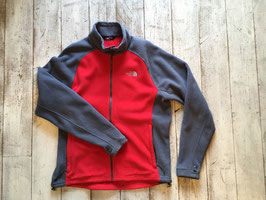 『USED』 THE NORTH FACE(ザ・ノースフェイス) Fleece Jacket(Red / Grey Mens L)