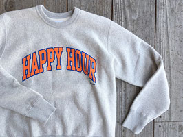 TACOMA FUJI RECORDS(タコマフジレコード) HAPPY HOUR COLLEGE LOGO SWEAT SHIRT
