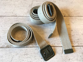 FRENCH ARMY OPEN BUCKLE BELT