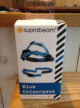 suprabeam(スプラビーム) ジョギングベルト+ヘッドバンドセット (Blue)