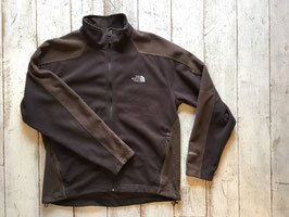 『USED』 THE NORTH FACE(ザ・ノースフェイス) Softshell Fleece Jacket(Brown Mens L)