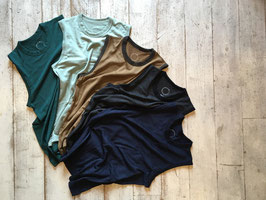 山と道(ヤマトミチ) Light Merino Sleeveless T-Shirt(MENS)