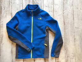 『USED』 THE NORTH FACE(ザ・ノースフェイス) Fleece Jacket(Boys L Blue / Yellow)