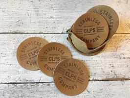 CupsCo(カップスコー) Leather Coaster