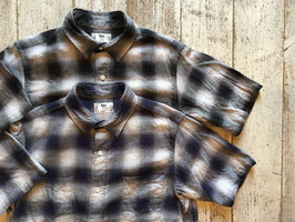 RAL(ラル) meets holk / Player Short Sleeve Shirt Ombre Check