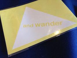 and wander(アンドワンダー)sticker