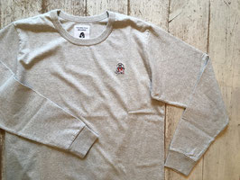 TACOMA FUJI RECORDS(タコマフジレコード) HOT DOG LS embroidery shirt