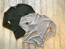 Yetina(イエティナ) L/S Knitted Merino T-Shirt
