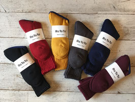 RoToTo(ロトト) LOOSE PILE SOCKS
