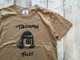 TACOMA FUJI RECORDS(タコマフジレコード) TACOMA FUJI HW LOGO COLOR : COFFEE DYE
