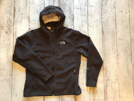 『USED』 THE NORTH FACE(ザ・ノースフェイス) Softshell Fleece Hoody(Brown Womens M)