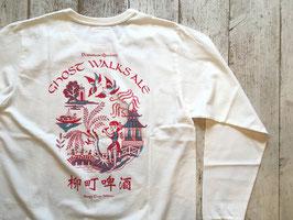 TACOMA FUJI RECORDS(タコマフジレコード) GHOST WALKS ALE LS shirt