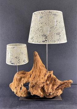 """Lampe """"Doppelschirm"""""""