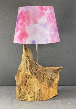 """Lampe aus Eichenholz """"wild"""""""