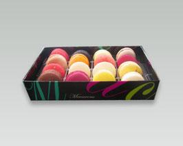 Macarons boîte arabesque