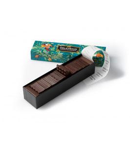 Boîte 40 mini tablettes chocolat noir
