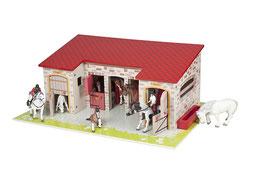 Papo 60102 - Pferdestall, ohne Spielfiguren