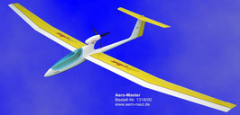 Aero-Master E-Segler 131800 2500 mm Spammweite