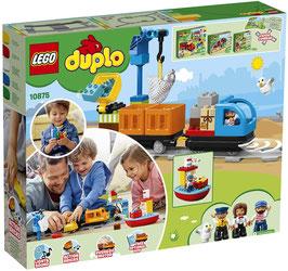 """LEGO 10875 DUPLO Güterzug, """"Push & Go""""-Lok mit Lichtern"""