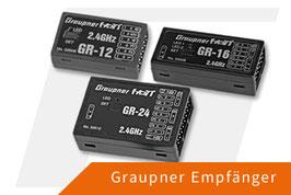 """Graupner GR-12 HoTT Empfänger (6-Kanal) 33506, weiter Empfänger bitte auf Anfrage """"momentan nicht lieferbar"""""""